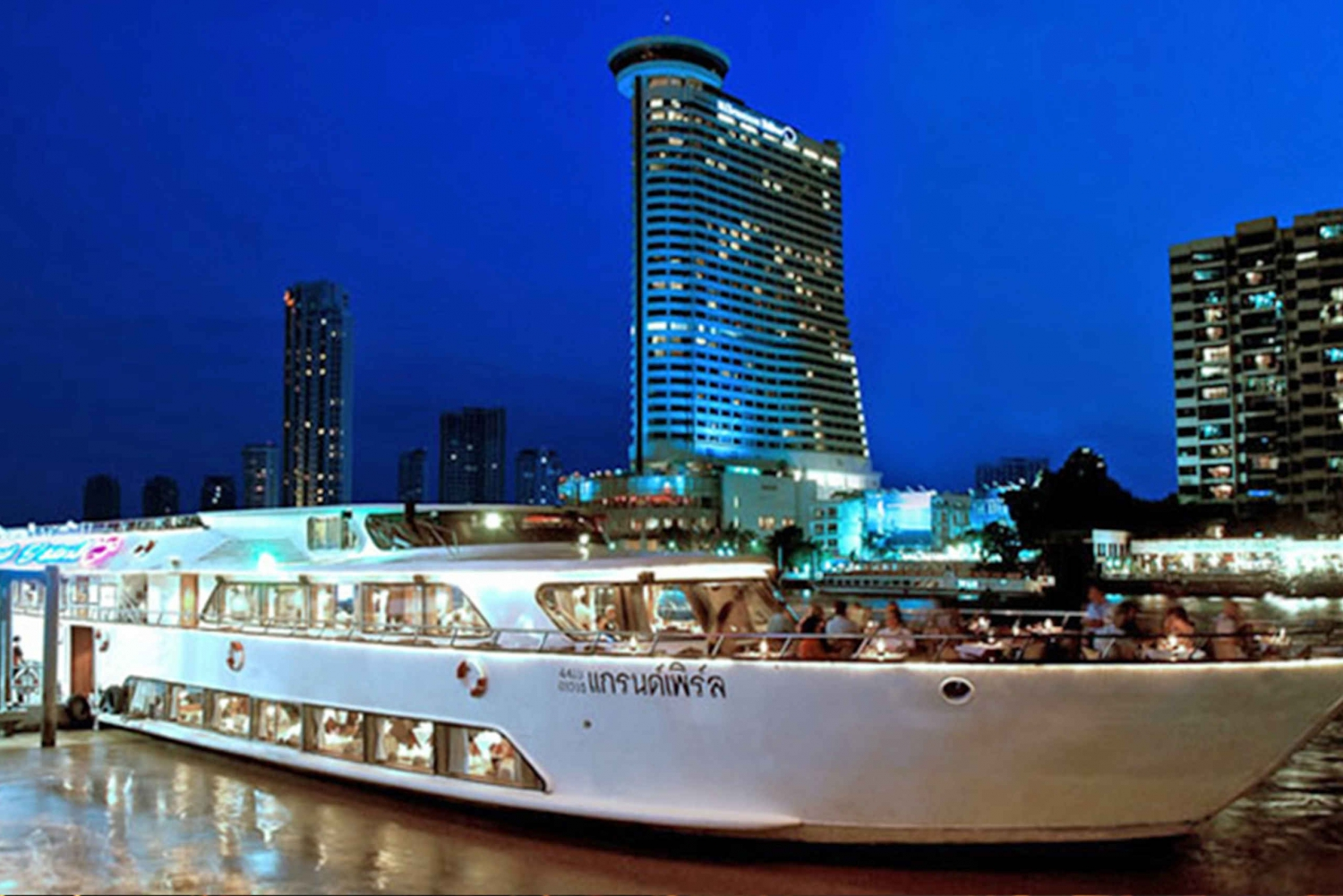 2-Hour Grand Pearl Dinner Cruise on the Chao Phraya River