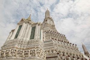 2-Hour Wat Arun, Royal Barge & Longtail Boat Tour
