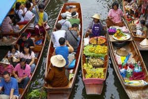 3-Day River Kwai, Floating Market and Erawan Waterfalls