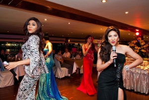 Bangkok: 2-Hour Dinner & Shows on White Orchid River Cruise