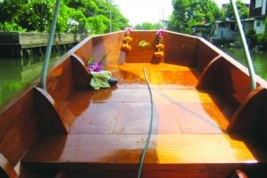 Bangkok Canal Teak Boat Full-Day Tour