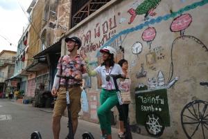 Bangkok: E-Scooter, Local Sights, and Street Food Tour