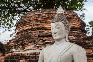 Bangkok: Full-Day Trip to Ayutthaya Temples & Night Market