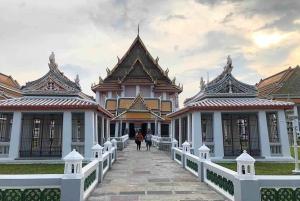 Bangkok: Historical Temples Tour & Rooftop Bar at Sunset