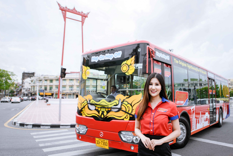 Bangkok Hop-On-Hop-Off Bus With Giants City Tour