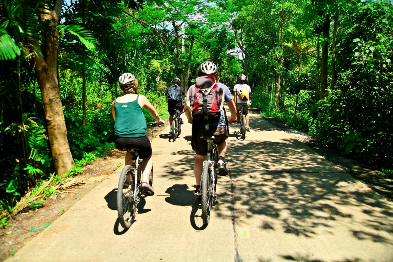 Bangkok Jungle Bike Tour: Morning or Afternoon Trip