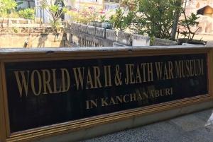Bangkok: Kanchanaburi and Erawan Waterfall Private Tour