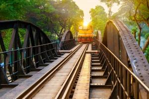 Bangkok: Kanchanaburi, River Kwai & Death Railway Tour
