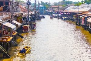 Bangkok: Private Car Hire to Amphawa Floating Market