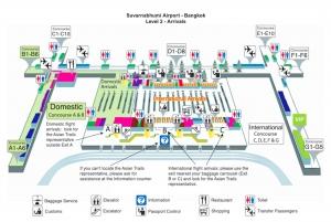 Bangkok: Suvarnabhumi Airport Shared Van Transfer