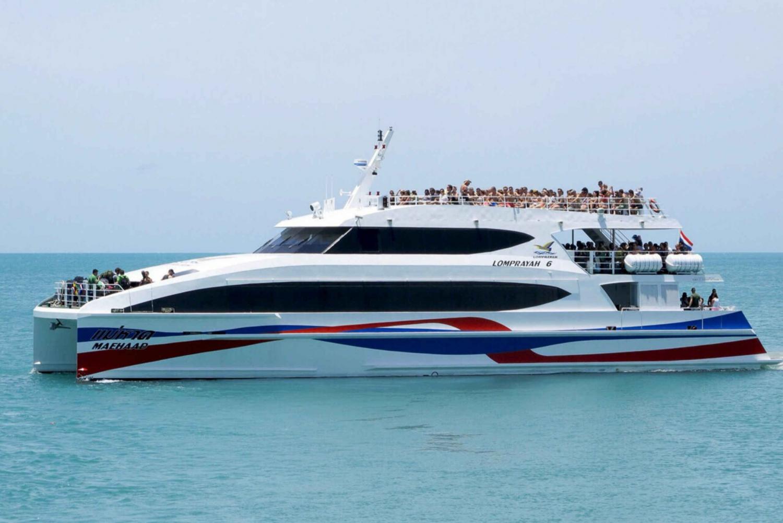 Boat Transfer: Koh Phangan from Southern Thailand & Bangkok