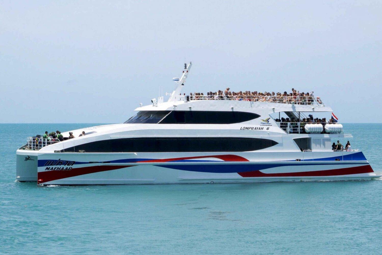 Boat Transfer to Koh Tao from Bangkok and Southern Thailand