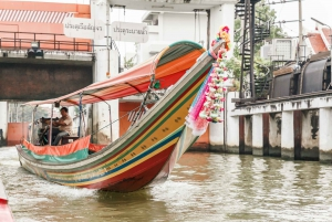 Customized Private Long-Tail Boat Hire with a Guide