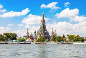 Damnoen Saduak, Reclining Buddha, and Wat Arun Private Tour