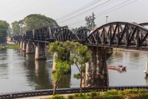 Elephant Sanctuary & Kanchanaburi Highlights Private Tour