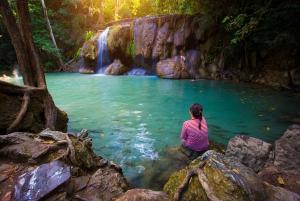 Erawan National Park and Kanchanaburi Small Group Tour