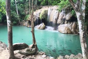 Erawan Waterfall & Kanchanaburi Highlights Tour From Bangkok