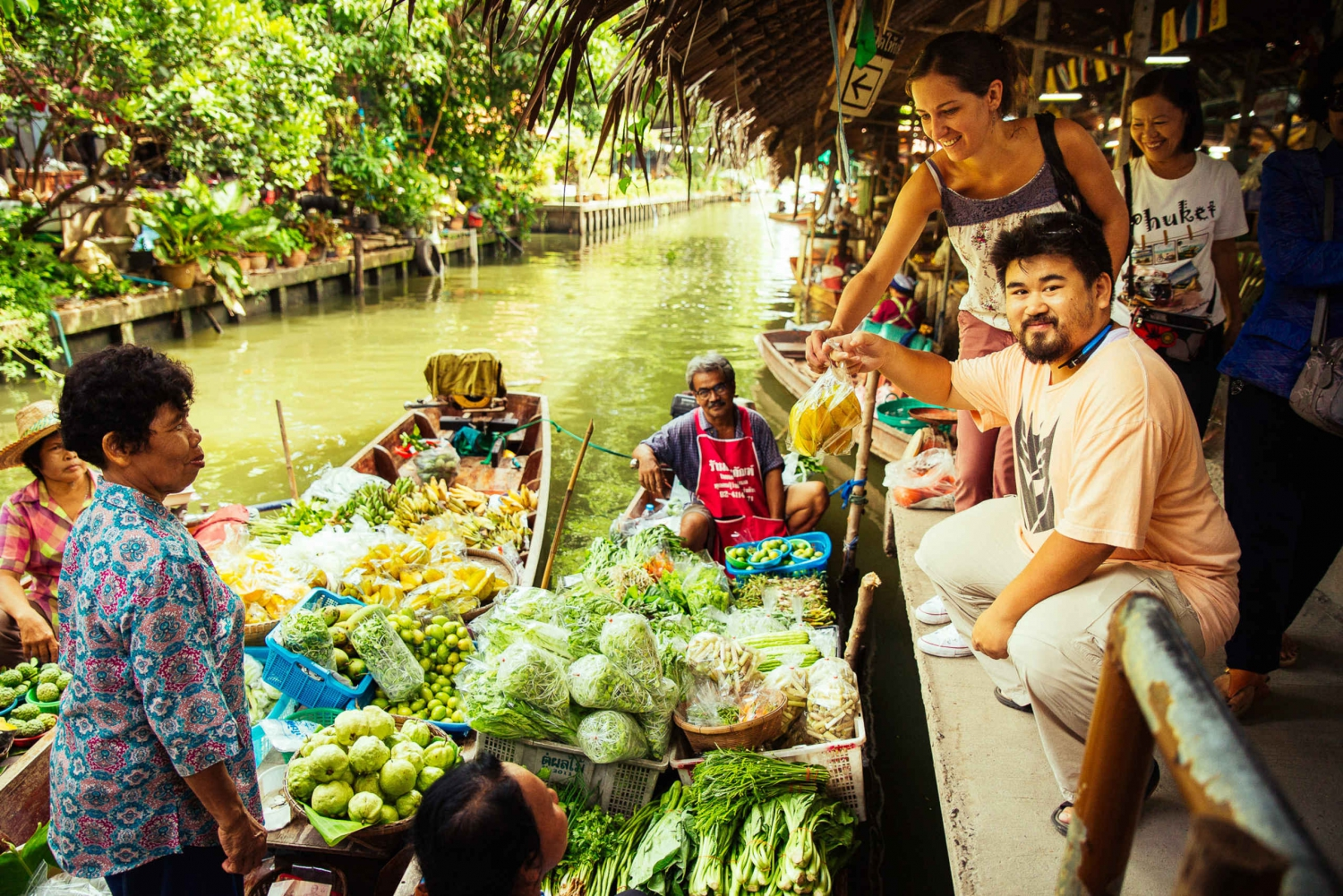 Floating Market Private Boat Tour with a Local