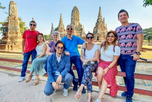 From Ayutthaya Day Tour by Car & Cruise in Spanish