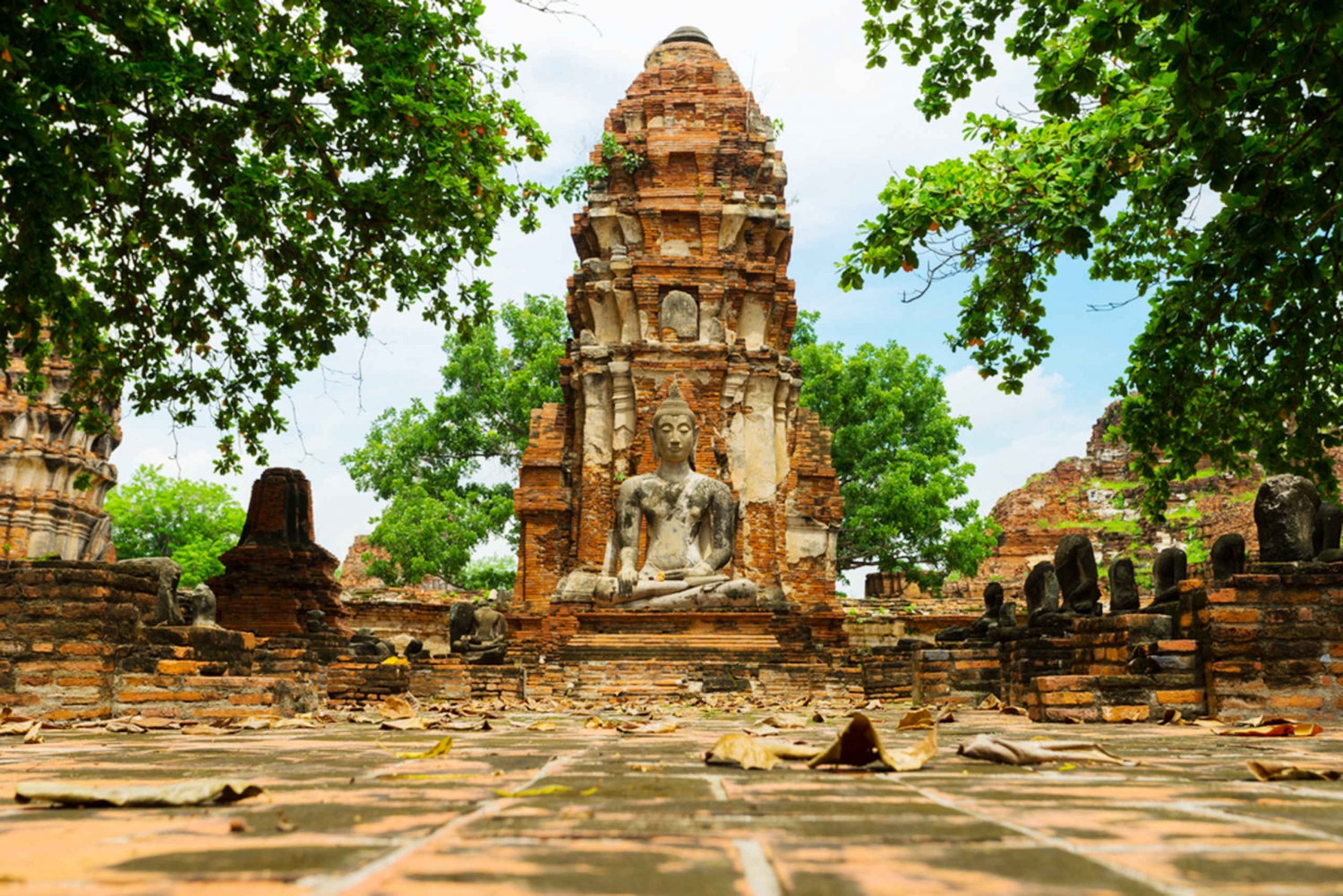 From Ayutthaya Temples & Floating Market Day Trip