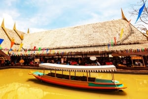 From Bangkok: Ayutthaya & Ayothaya Floating Market Day Trip