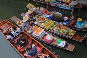 From Bangkok: Damnoen Saduak & Ayutthaya Combination Tours