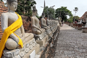 From Bangkok: Private Tour to Ayutthaya & Summer Palace