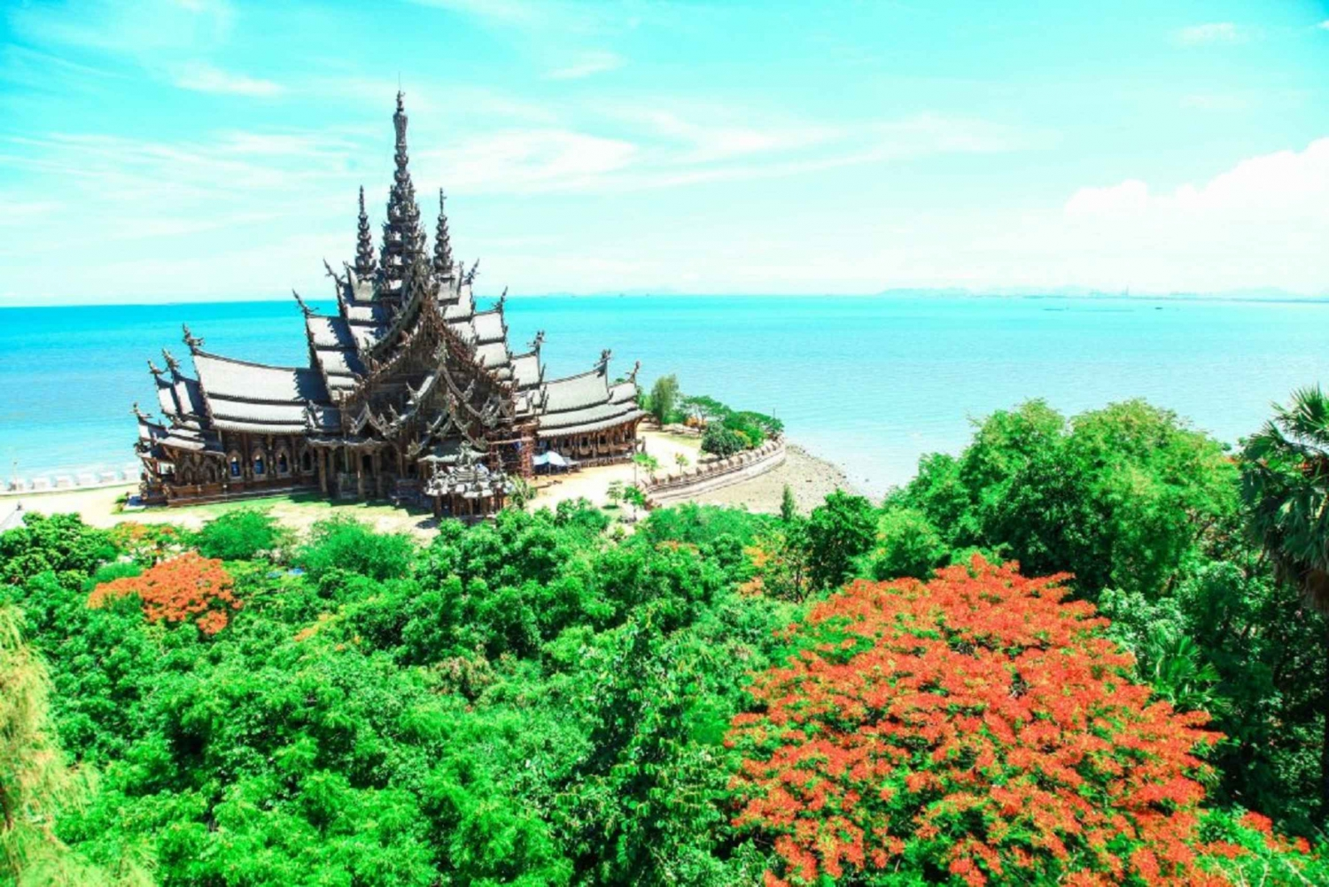 From Day Trip to Pattaya City & Sanctuary of Truth