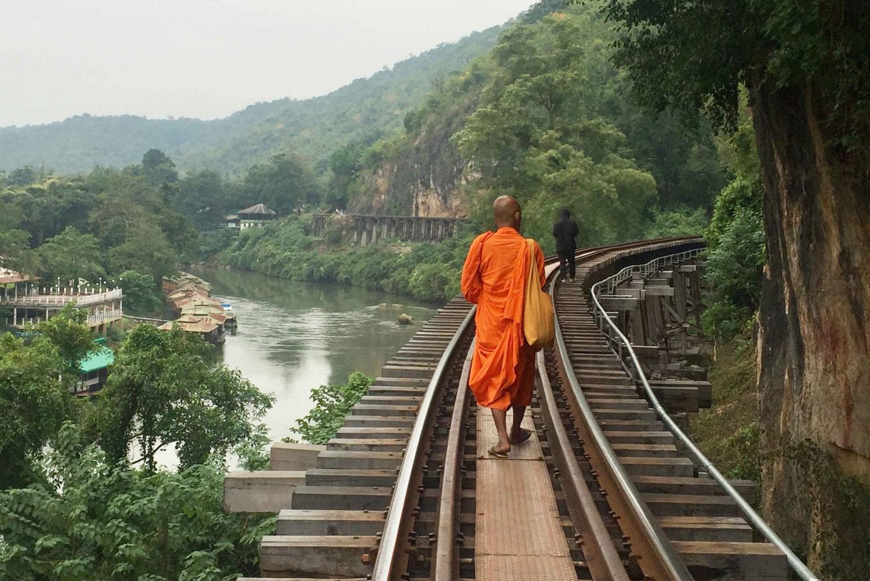 From Kanchanaburi Tour, Railway & Floating Markets