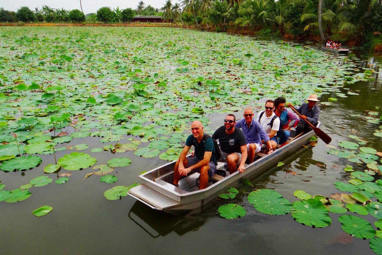 From Mahasawat Canal and Organic Fruit Farm Tour