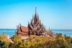 From Pattaya Beach & Coral Island Small Group Tour
