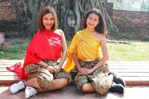 Full-Day Trip to Ayutthaya Temples & Night Market