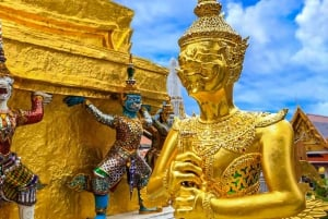 Grand Palace, Wat Pho, and Wat Arun: Guided Tour in Spanish