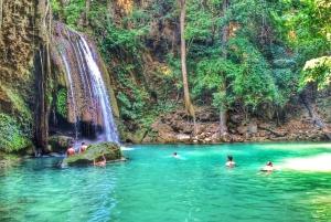 Kanchanaburi and Erawan Waterfall Private Tour