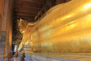 Private Tour: Wat Pho, Wat Traimit and Wat Benchamabophit