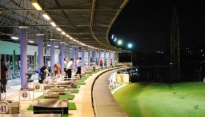 Pro-Am Golf Driving Range