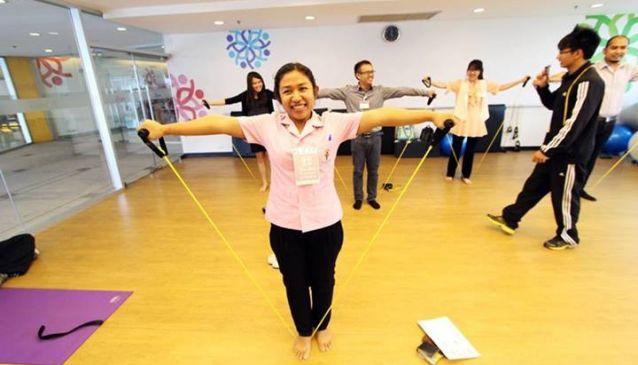 Theptarin Hospital Fitness Center