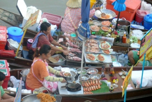 Weekend Amphawa Floating Market & Train Market Private Tour