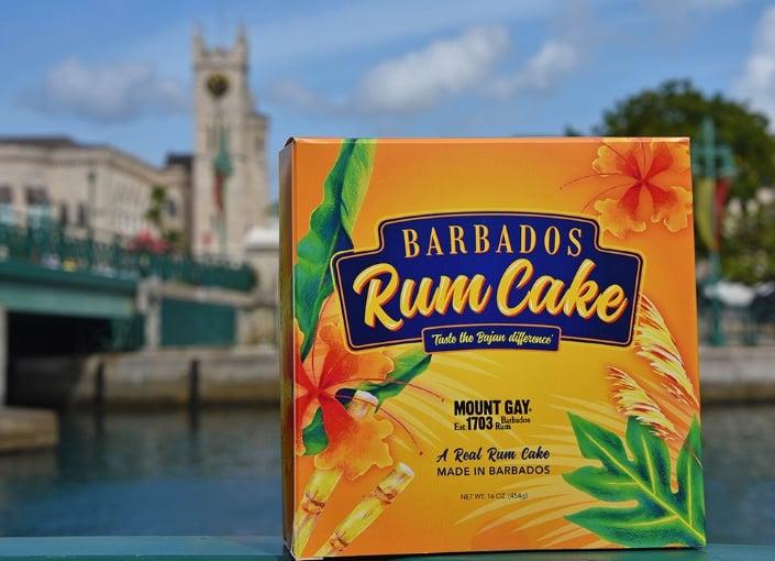 Barbados Rum Cake