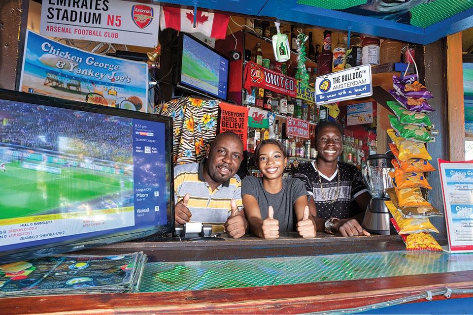 Chicken George Beach Bar