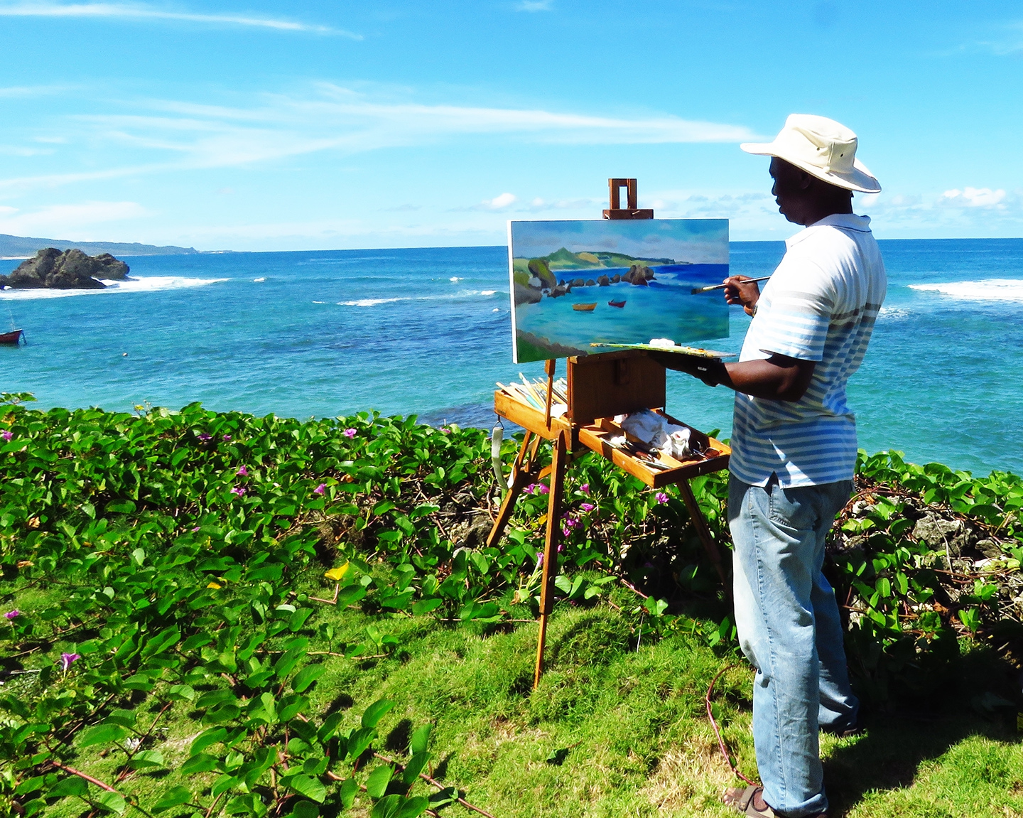 Paint with Neville Legall Artist