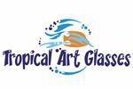 Tropical Art Glasses