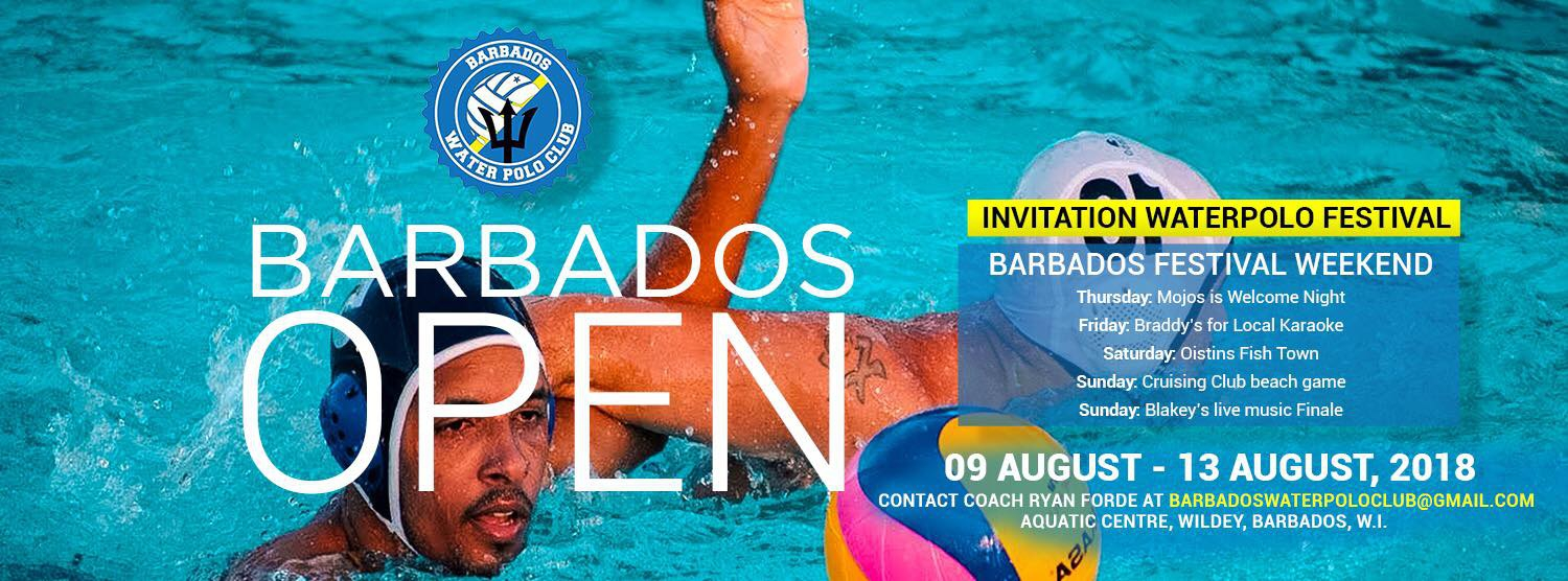 5th Barbados Open Invitational Water Polo Tournament 2018