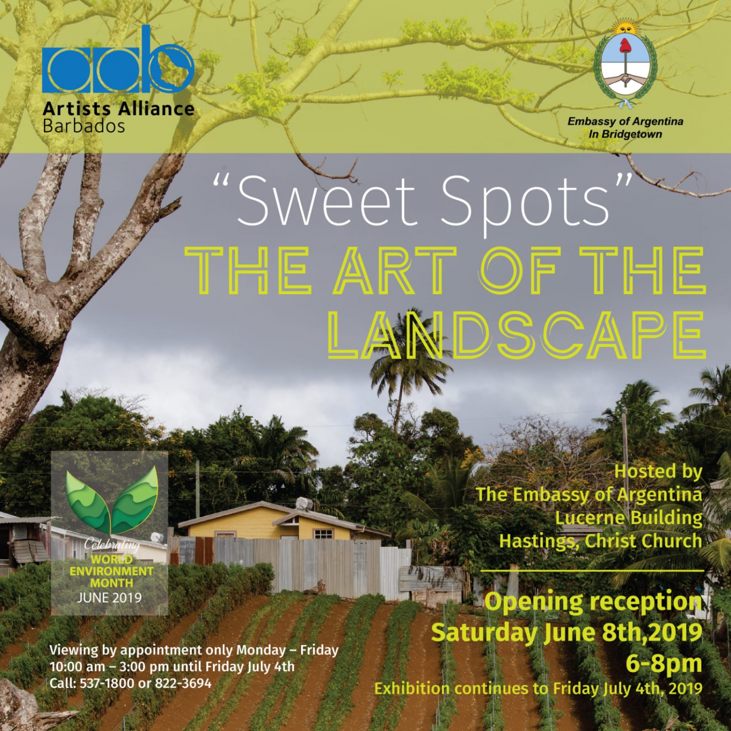 Artists Alliance Barbados Exhibition