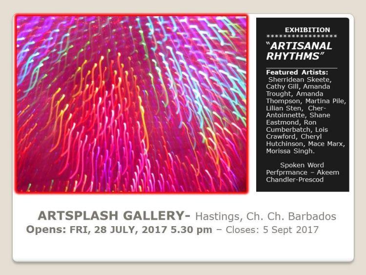 ArtSplash Art Gallery Exhibition - Artisanal Rhythms