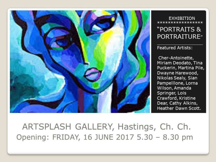 ArtSplash Exhibition - Portraits and Portraiture