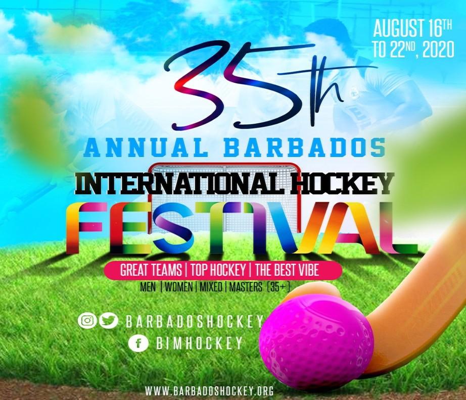 The 35th Annual Barbados International Hockey Festival 2020