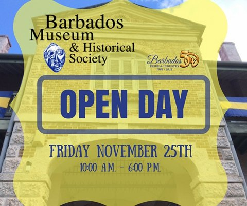 Barbados Museum's Open Day - Celebrating 50