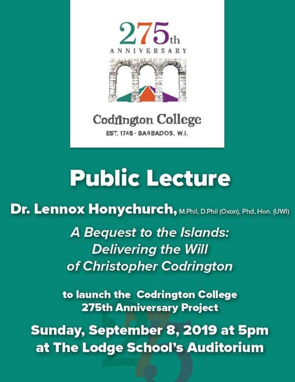 Public Lecture by Dr. Honychurch