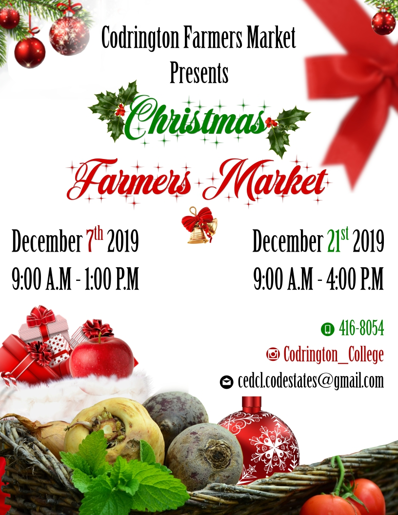 Codrington Christmas Farmers Market